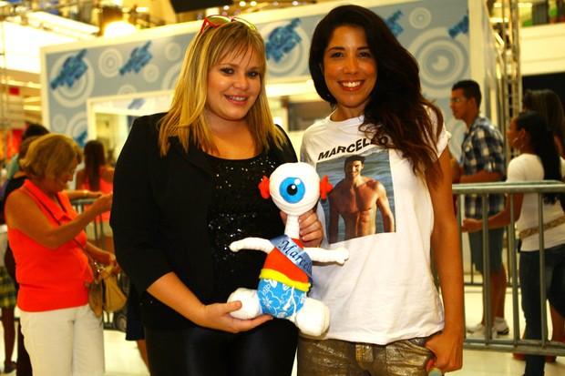 Paulinha e Adriana (irmã do Marcello) (Foto: Iwi Onodera/EGO)