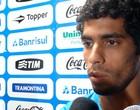 Zagueiro Vilson do Grêmio (Foto: Eduardo Cecconi/Globoesporte.com)