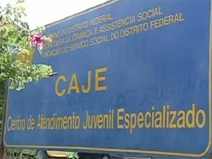 Polícia investiga tortura de adolescente dentro do Caje (Foto: Reprodução/TV Globo)