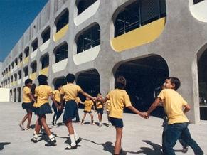 Cieps - Educação Integral (Foto: Divulgação/Fundação Darcy Ribeiro)