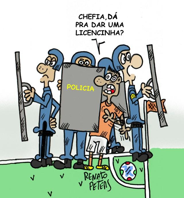 É Libertadores...-charge Peters
