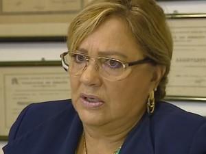 Delegada Áurea Regina Hoeppel (Foto: Reprodução/RBS TV)