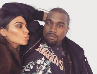 Kim Kardashian e Kanye West (Foto: Reprodução/Instagram)