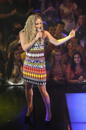 Claudia Leitte no 'The Voice' (Foto: Estevam Avellar/TV Globo)