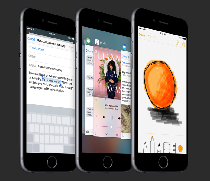 iPhone 6S chega com iOS 9 e função 3D Touch de fábrica (Foto: Divulgação/Apple)