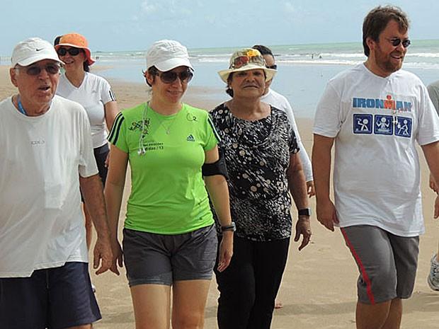 Recifense criou a Dieta da Rede Social e emagreceu 37 quilos no primeiro ano (Foto: Vitor Tavares / G1)