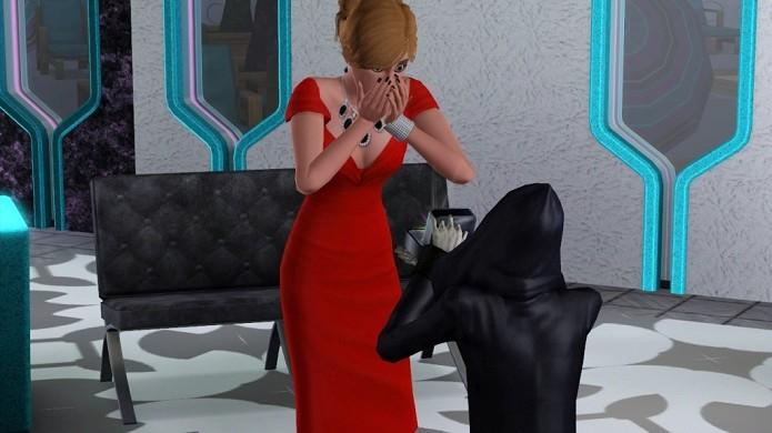 Casar com a Morte é algo completamente normal em The Sims (Foto: Divulgação)