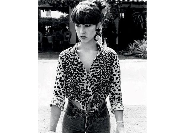 Isabela Capeto nos anos 90 (Foto: Arquivo pessoal)