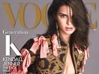 Kendall Jenner aparece de topless em capa de revista: 'Uma honra'