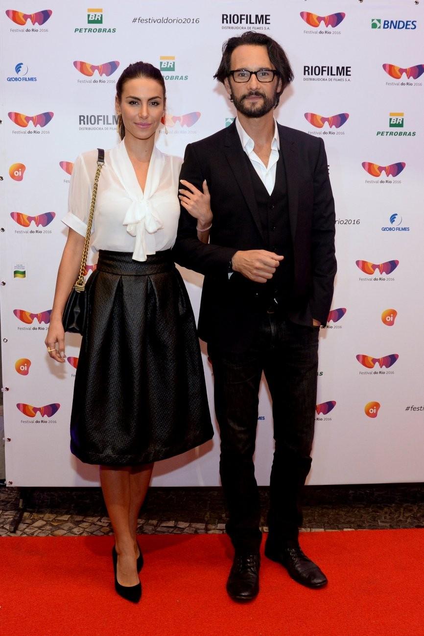 Rodrigo Santoro e Mel Fronckowiak  (Foto: Leo Marinho/Brazil News)