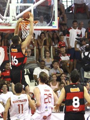 Basquete, Flamengo, olivinha (Foto: Marlon Falcão / AGência Estado)