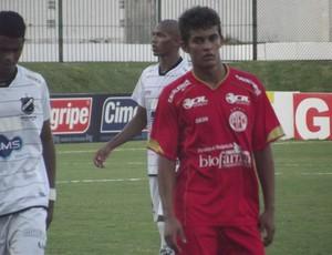Rivaldo, do América-RN, foi artilheiro da competição (Foto: Matheus Magalhães/GLOBOESPORTE.COM)