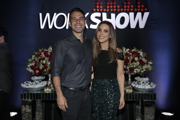 Marcus Buaiz e Wanessa Camargo (Foto: Rafael Cusato/Brazil News)