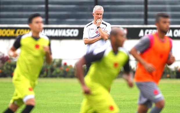 Dorival Junior treino Vasco (Foto: Alexandre Cassiano / Agência o Globo)