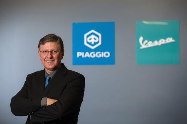 Longino Morawski, presidente da Piaggio Brasil (Foto: Divulgação)