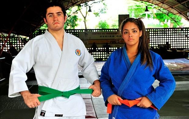 Judocas amazonas jogos da juventude (Foto: Cleilton Viana/Sejel)
