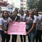 Fãs de Luan homenageiam vítima da Kiss (Luiza Carneiro/G1)