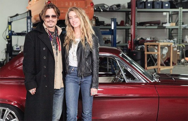 Johnny Depp estará na última temporada de Overhaulin´' (Foto: Discovery)