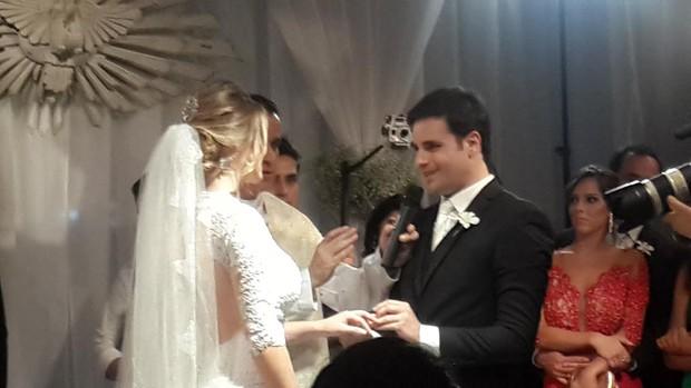 Vesgo se casa em São Paulo (Foto: EGO)
