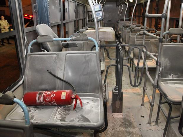 Princípio de incêndio foi registrado próximo ao local de um dos ataques em janeiro (Foto: Douglas Júnior/O Estado)