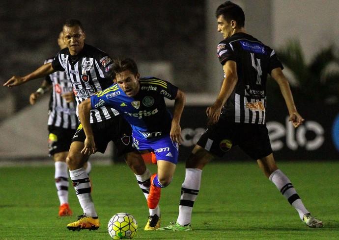 Botafogo-PB x Palmeiras; Copa do Brasil (Foto: Futura Press)