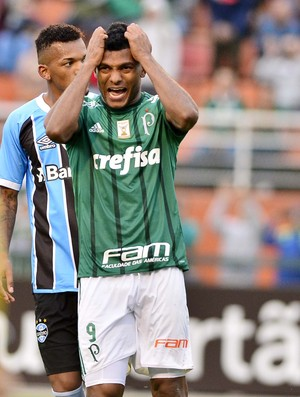 Borja Palmeiras x Grêmio (Foto: Marcos Ribolli)