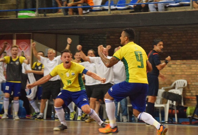 Brasil x Argentina, eliminatórias da Copa do Mundo, futsal (Foto: Luis Domingues/CBFS)