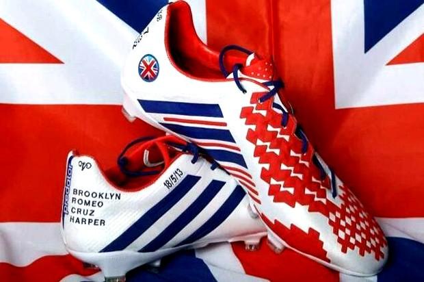chuteira Beckham Adidas Inglaterra (Foto: Divulgação / Adidas)