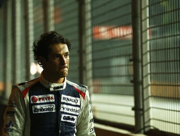 Bruno Senna treino GP de Singapura (Foto: Getty Images)