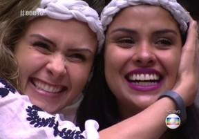 Ana Paula e Munik no BBB 16: amigas e aliadas no jogo (Foto: Reprodução/Globo)