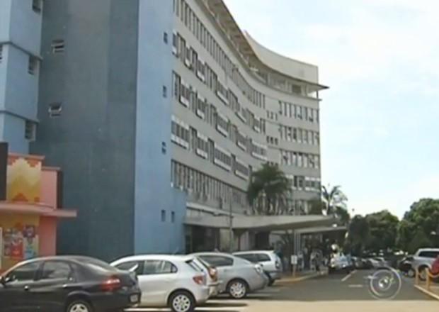 Santa Casa de Araçatuba (Foto: Reprodução / TV TEM)