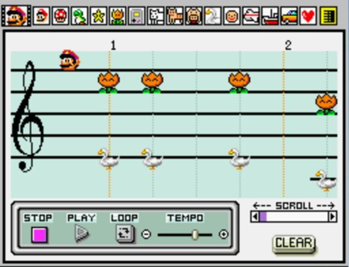 Videogames e música estão intimamente ligados (Foto: Reprodução / Mario Wiki)