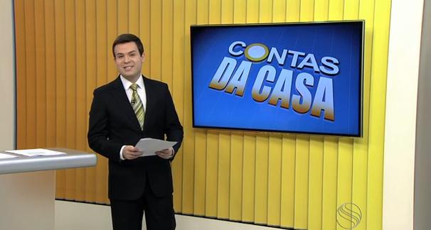 Lyderwan Santos apresenta o Bom dia Sergipe. (Foto: Divulgação / TV Sergipe)