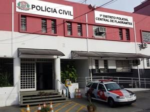 O 1º Distrito Policial de Campinas, na região central (Foto: Fernando Pacífico / G1 Campinas)