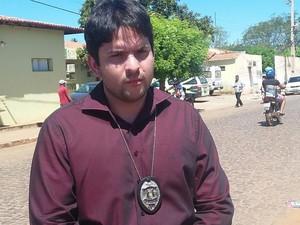 Perito médico, Enzo Moraes (Foto: Washington Franklin)
