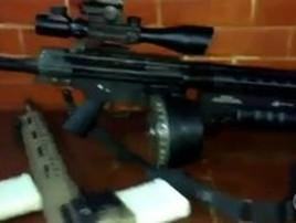 Bandidos do Rio fazem festa para chegada de armas de guerra (rjtv)