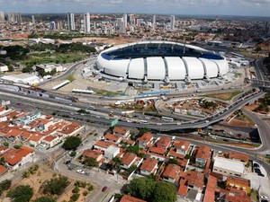 Arena das Dunas receberá sua segunda partida de Copa do Mundo nesta segunda (Foto: Canindé Soares/G1)