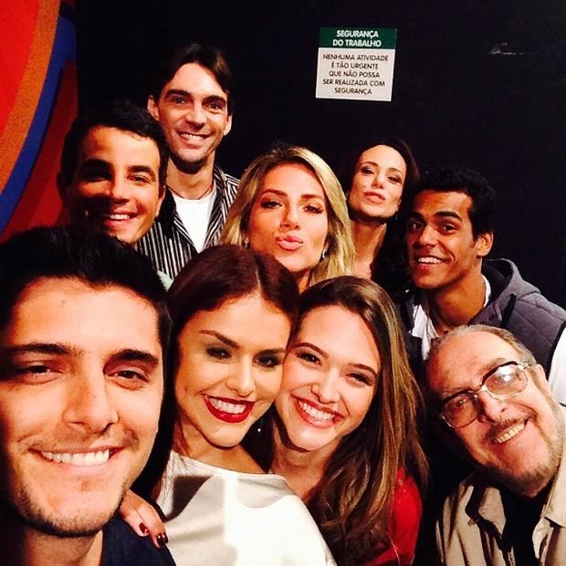 Bruno Gissoni e amigos (Foto: Instagram/Reprodução)