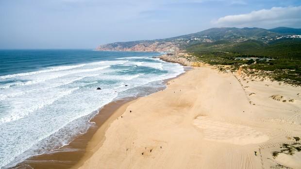 Praia do Guincho em Cascais, Portugal (Foto: Filipe Frazao/Shutterstock)