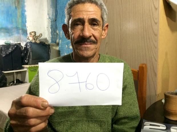 Camilo e o número de horas em liberdade condicional (Foto: Caetanno Freitas/G1)