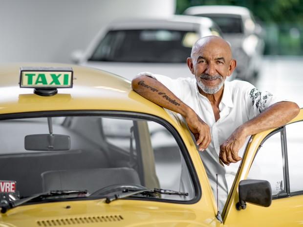 Sila da Conceição conseguiu montar frota de táxi após infância de batedor de carteiras (Foto: Divulgação)