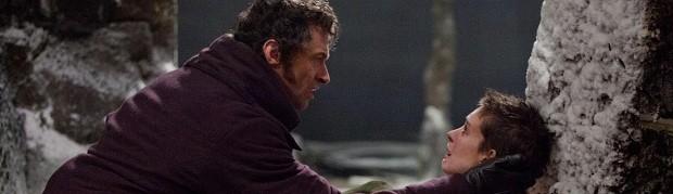 Hugh Jackman e Anne Hathaway em 'Os miseráveis' (Foto: Divulgação)