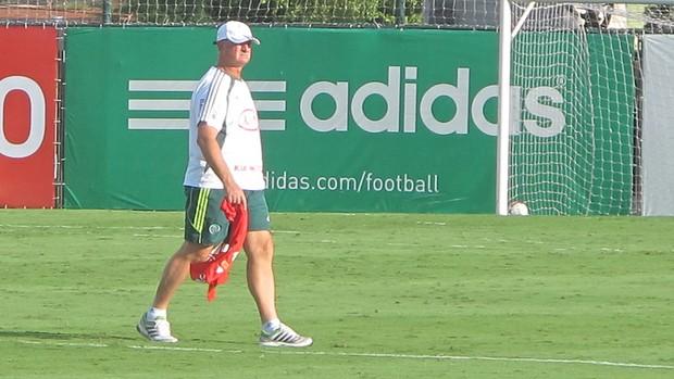 Felipão do Palmeiras (Foto: Diego Ribeiro / Globoesporte.com)