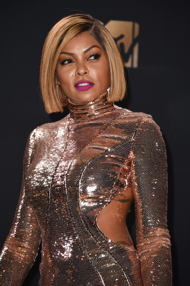 LOS ANGELES, CA - MAY 07:  Actor Taraji P. Henson attends the 2017 MTV Movie And TV Awards at The Shrine Auditorium on May 7, 2017 in Los Angeles, California.  (Photo by Alberto E. Rodriguez/Getty Images) (Foto: Getty Images)
