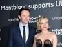 Diane Kruger usa look decotado em evento beneficente nos EUA