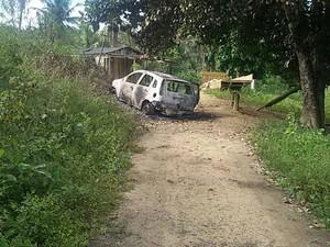 Carro roubado de PM Bahia 2 (Foto: Alex Barbosa/ Site Bahia Dia a Dia)