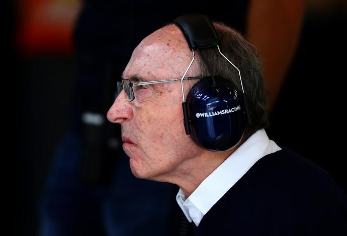Frank Williams - GP da Hungria - 26/7/2014 (Foto: Getty Images)
