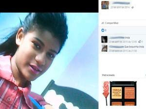 Jovem de 18 anos morreu afogada em Ilhéus (Foto: Reprodução/Facebook)