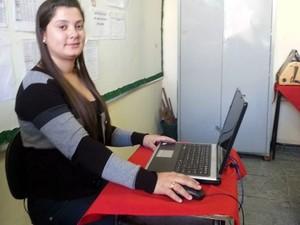 Beatriz, estudante de 24 anos (Foto: Anna Lúcia/G1)
