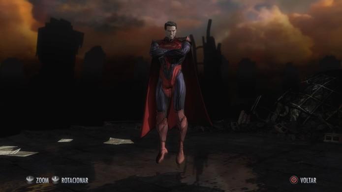 Skins de Injustice: Superman (Foto: Reprodução/Felipe Vinha)